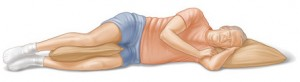 sleeping positions can affect your back pain