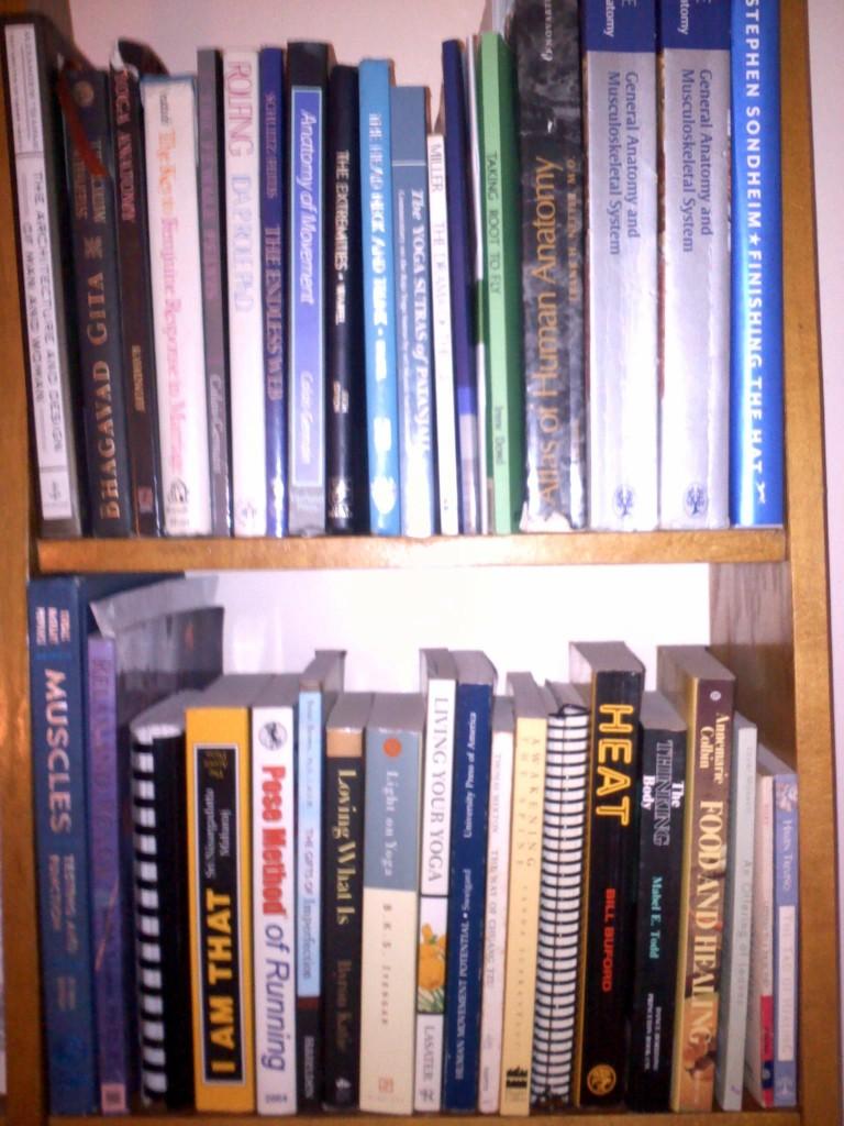 Books on my shelf image