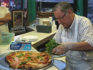 posture problems and di fara pizza